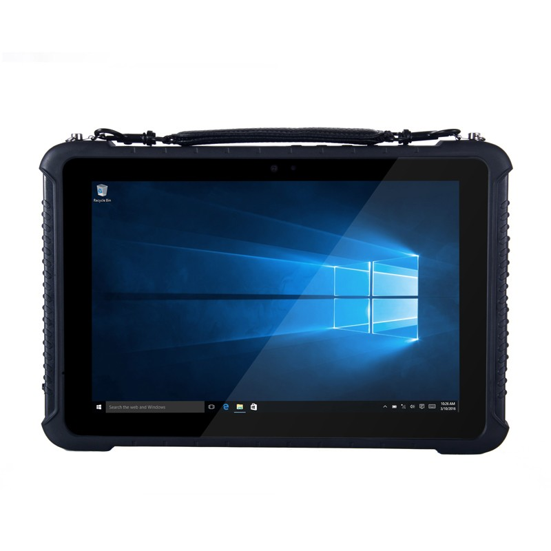 Model series: RAMBO - 10 inch IP65 Ruggedized Tablets with Barcode